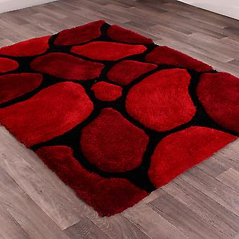 Stepping Stones Rugs In Red