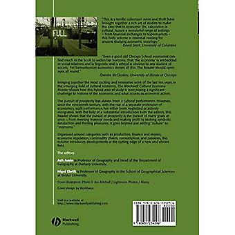 The Blackwell Cultural Economy Reader (Blackwell Readers in Geography)