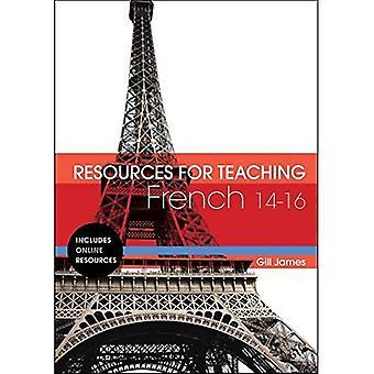 Ressources pour l'enseignement Français: 14-16