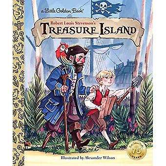 L'île au Trésor (petit livre d'or)