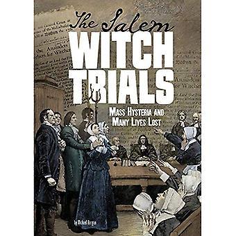 As bruxas de Salém: Histeria em massa e muitas vidas perderam (emaranhada história)