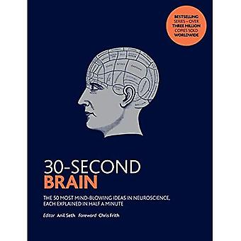 30-Second Brain: The 50 most mind-blowing ideas in neuroscience, each explained� in half a minute (30-Second)
