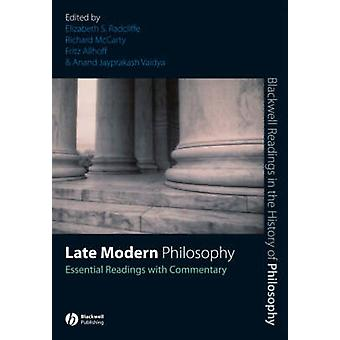 Late Modern Philosophy by Radcliffe