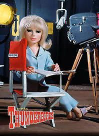 Thunderbirds Lady Penelope steel fridge magnet  (sd)
