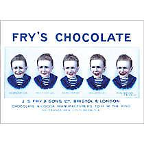 Frys Five Boys metal sign (a5)
