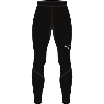 PUMA LIGA Baselayer Long Tight Jr Kinder Hose Schwarz