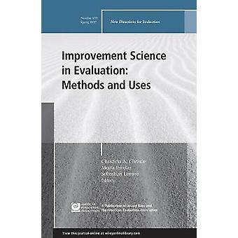 Forbedring vitenskap i evaluering - metoder og bruker - nye retninger f