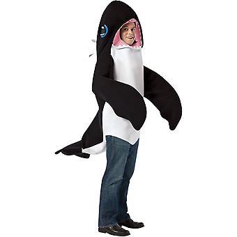 Großer Schwertwal Erwachsenen Kostüm 2