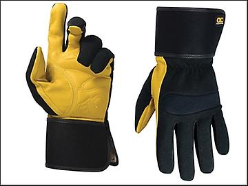 Kuny's Hybrid-270 Top Grain Leather Cuff Gloves Large (Size 10)
