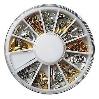 Roue de décorations/rivets en métal strass