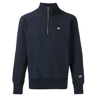 Champion Blue Wool Sweater