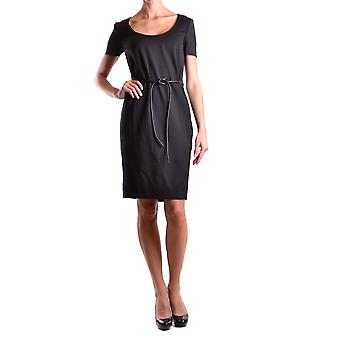Dsquared2 Black Wool Dress