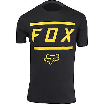 Fox Racing Mens Listless Airline SS T-Shirt - Black/Gold