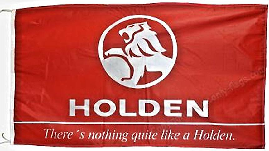 Large Holden flag  1500mm x 900mm  (of)