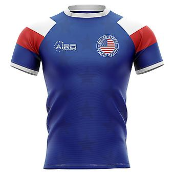 2019-2020 USA Home Concept Rugby Shirt-Kids