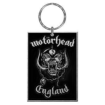Portachiavi in metallo con logo a Motorhead England