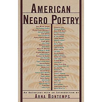 American Negro Poetry - An Anthology by Arna Wendell Bontemps - Arna B
