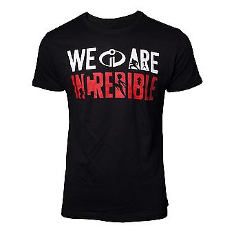 Incredibles 2 The T-Shirt We are Incredible Mens Black XX-Large TS077214INC-2XL
