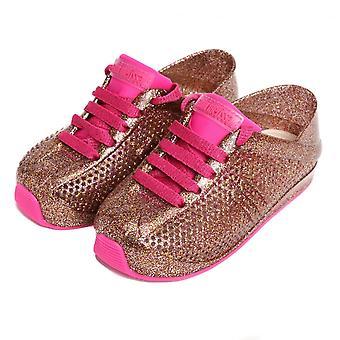 Melissa schoenen mini Melissa love System 18 trainers, pink glitter