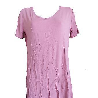 Triumph Body Make Up Light Lace Ssl Short Sleeve Top Tshirt