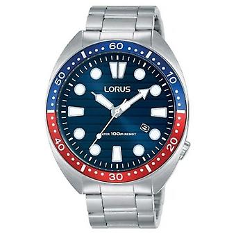 Mer från Lorus | Mens Sports Collection | Rost fritt stål | Blå urtavla | RH925LX9 klocka