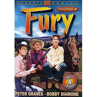 Fury - Fury: Vol. 4 [DVD] USA import