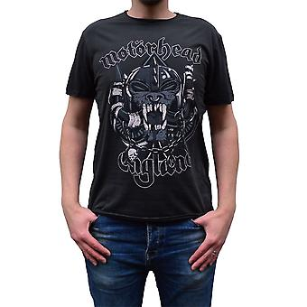 Amplified Motorhead Snaggletooth Crest Charcoal Crew Neck T-Shirt M