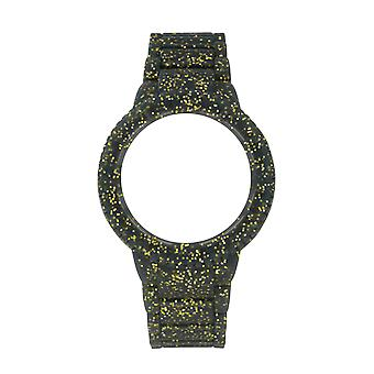 Watx&colors sparkling watch for Unisex with cowa1018 rubber bracelet