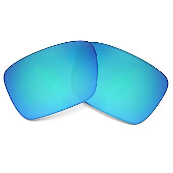 Replacement Lenses Compatible with OAKLEY Fuel Cell Blue Mirror