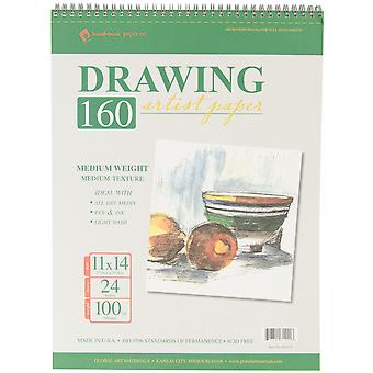 Drawing Pad 100# 24 Sheets Pkg 11