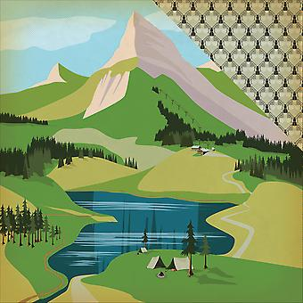 Great Outdoors Double-Sided Cardstock 12