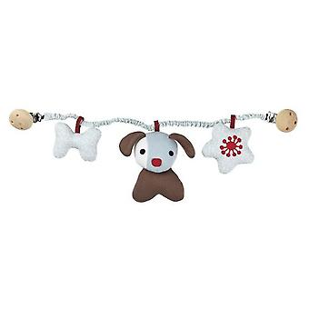 Franck & Fischer Herbert dog rattle for pram