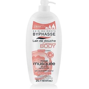 Byphasse Shower Cream Rosehip 2L