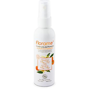 Florame Deodorant Spray Mandarina & Ylang (Woman , Cosmetics , Body Care , Deodorants)