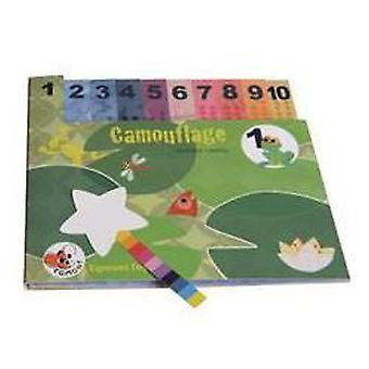 Egmont Toys Camouflage book (Toys , Educative And Creative , Vocabulary)