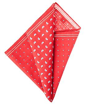 Pellens & Loïck men's handkerchief Hanky drops & red dot