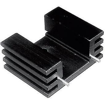 Fin heat sink 12.5 C/W (L x W x H) 25 x 32 x 20 mm TO 220 01 Brand ASSMANN WSW V5229W