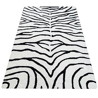 Rugs -Bakero - Zebra Black
