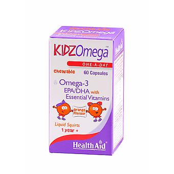 Health Aid KidzOmega - Chewable, 60 Capsules