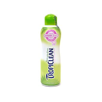 Tropiclean shampooing 2 en 1 papaye de Plus 20oz