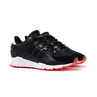 Adidas Originals EQT Support RF Black Mesh Trainers