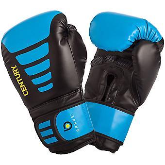 Jahrhundert mutige Haken und Schleife Training Boxhandschuhe - schwarz/blau