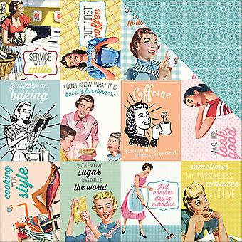 Saucy Double-Sided Cardstock 12
