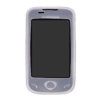 Wireless Solutions Silicone Gel Case for Samsung Mythic SGH-A897 - Clear