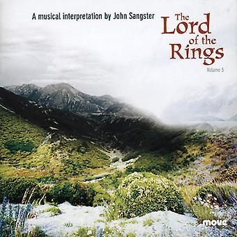 John Sangster - John Sangster: Vol. 3-Lord of the Rings [CD] USA import