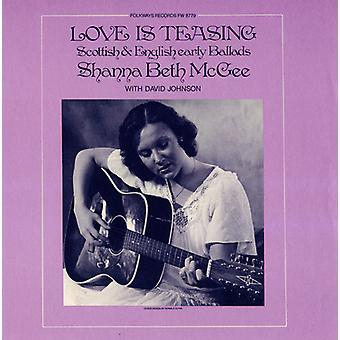 Shanna Beth McGee - Love Is Teasing: Scottish & English Early Ballads [CD] USA import