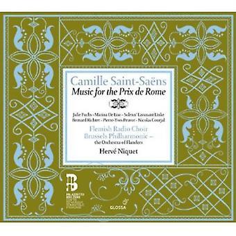 C. Saint-significa - Camille Saint-Sa Ns: música para la importación de los E.e.u.u. Prix magnífico De Roma [CD]