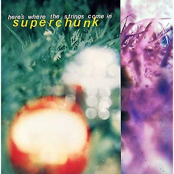 Superchunk - Here's Where the Strings Come in [CD] USA import