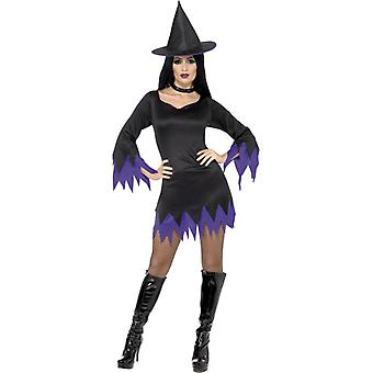 Witch costume ladies witch witch costume Halloween
