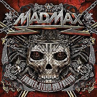 Mad Max - Thunder Storm & Passion [CD] USA import
